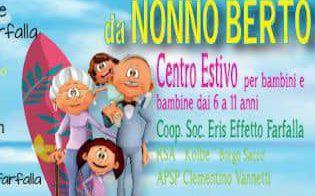 """Centro Estivo da """"Nonno Berto 2020"""""""